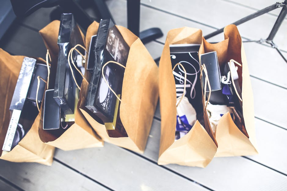 damskie torby po zakupach